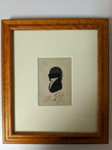 Silhouette of Chauncy Sr. - Roberson Collections